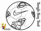 Soccer Coloring Ball Nike Pages Sports Football Fifa Balls Shoes Colouring Exclusive sketch template
