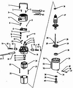 Craftsman Router Parts