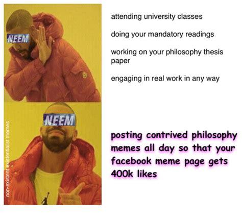 Philosophy Memes - 25 best memes about facebook meme facebook memes
