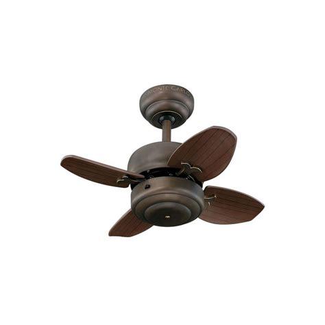 monte carlo mini ceiling fan light kit monte carlo mini 20 20 in bronze ceiling fan