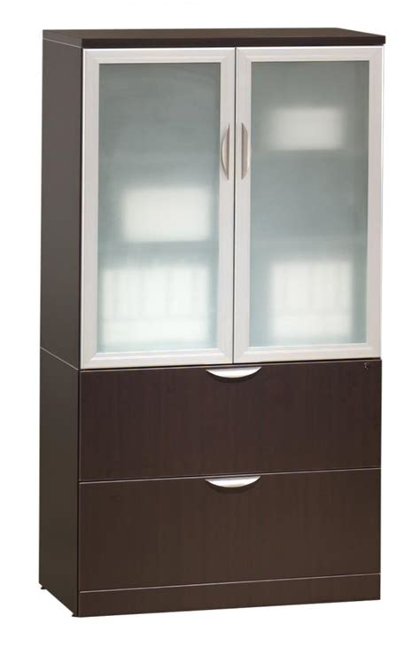 Storage Cabinet With Drawers by Decorative Storage Cabinets With Glass Doors You Should
