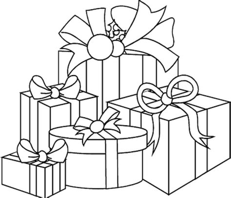 stocking christmas coloring page coloring pages