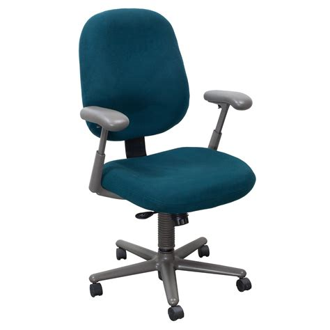 herman miller ergon used high back task chair teal
