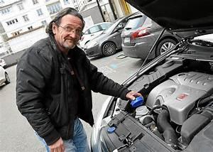 Kit Electrification Voiture : marc renaudin sa voiture carbure l 39 eau de pluie portraits ~ Medecine-chirurgie-esthetiques.com Avis de Voitures