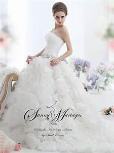 Robe Mariée 2016 : robe de mari e 2016 cr atrice robe de mari e sunny mariage ~ Farleysfitness.com Idées de Décoration