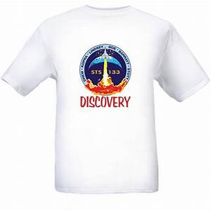 NASA Space Shuttle STS-133 Mission Logo T Shirt XXL White