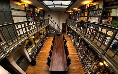 Study Wallpapers Private Library Books Backgrounds Freecreatives