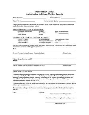 part request form template