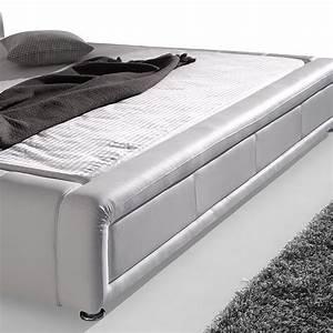 Polsterbett Weiß 180x200 : polsterbett komplett aron bett 180x200 weiss lattenrost matratze wohnbereiche schlafzimmer ~ Orissabook.com Haus und Dekorationen