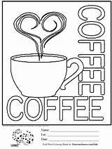Coloring Coffee Cups Cup Printable Sheets Starbucks Adult Sheet Para Colorear Anuncios Activities Drawing Colouring Mandalas Tea Colour Cool Ginormasource sketch template