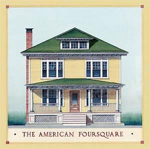 American Foursquare Architecture & Interiors - Restoration