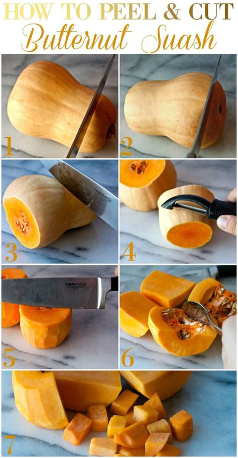 How To Peel And Cut Butternut Squash + Giveaway! {$219