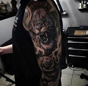 17 best ideas about Lion Tattoo Sleeves on Pinterest ...