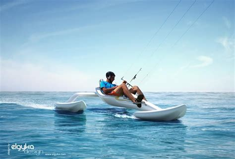 Sailing Boat With Kite by Kite Boat Par Elgyka Design Et Dared Projet Design Le