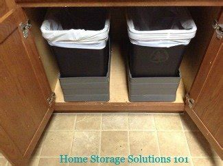 kitchen garbage cans pros cons   varieties