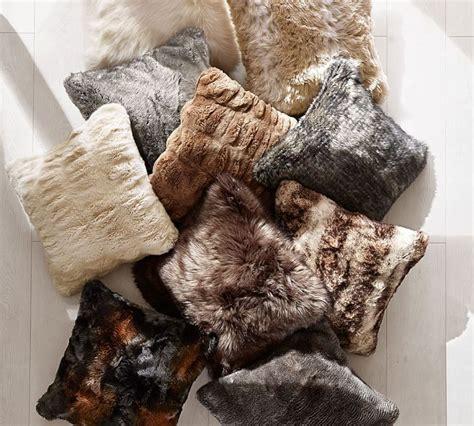 faux fur pillow faux fur pillows advantages and features home and textiles