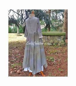 Robe Style Boheme : robe longue romantique style boh me vert lilas d cor e par ~ Dallasstarsshop.com Idées de Décoration