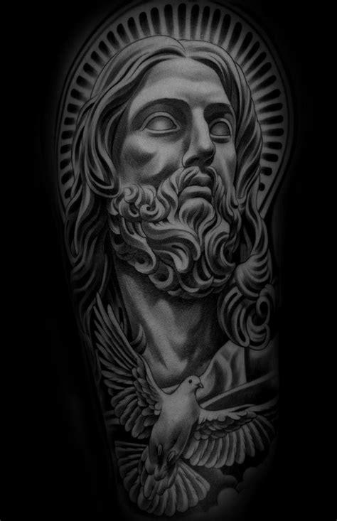 Monarc Studios | Collection | Sleeve | Pinterest | Tatuaje de jesús, Tatuajes de alas and