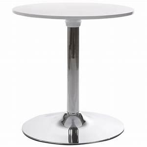 Table Basse Tulipe : table basse ronde style tulipe mars blanc vistadeco ~ Teatrodelosmanantiales.com Idées de Décoration