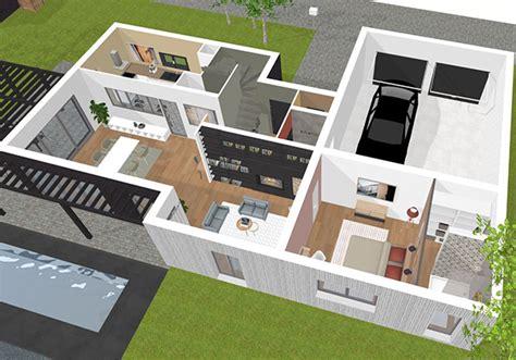 logiciel conception cuisine plan maison 3d logiciel gratuit pour dessiner ses plans 3d