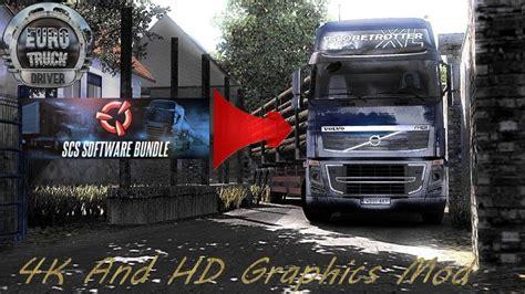 Truck Simulator 2 Wallpaper 4k by 4k And Hd Graphics Mod V1 0 Ets2 Truck Simulator 2 Mods