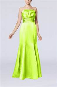 Lime Green Color Mother of the Bride UWDress