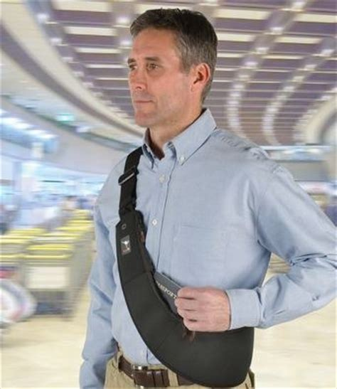 travelers security bandolier wraps  rambo style pouch