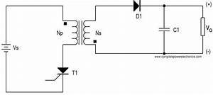 flyback converter working principle power electronics a to z With flyback circuit