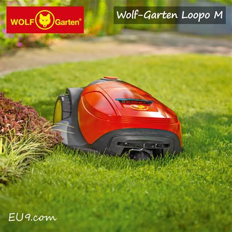 Neu 2018 Wolfgarten Loopo M1000 Mähroboter Jetzt