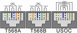 Rj45 Female Connector Wiring Diagram