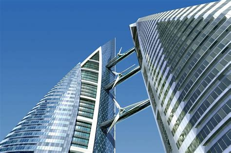 Bahrain World Trade Center, un edificio de turbinas ...