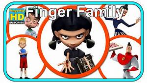 Finger Family Songs Meet The Robinsons Family Nursery