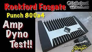1999 Rockford Fosgate Punch 800a4 Amp Dyno Test
