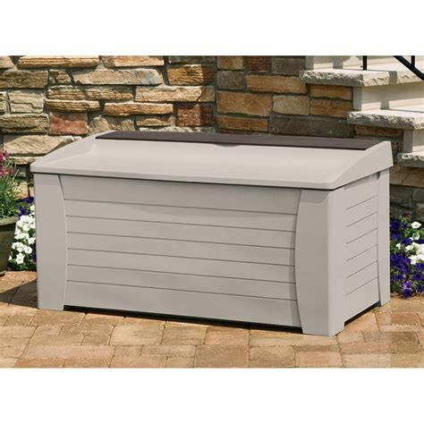 keter jumbo deck box white 100 keter rockwood 150 gallon outdoor deck boxes