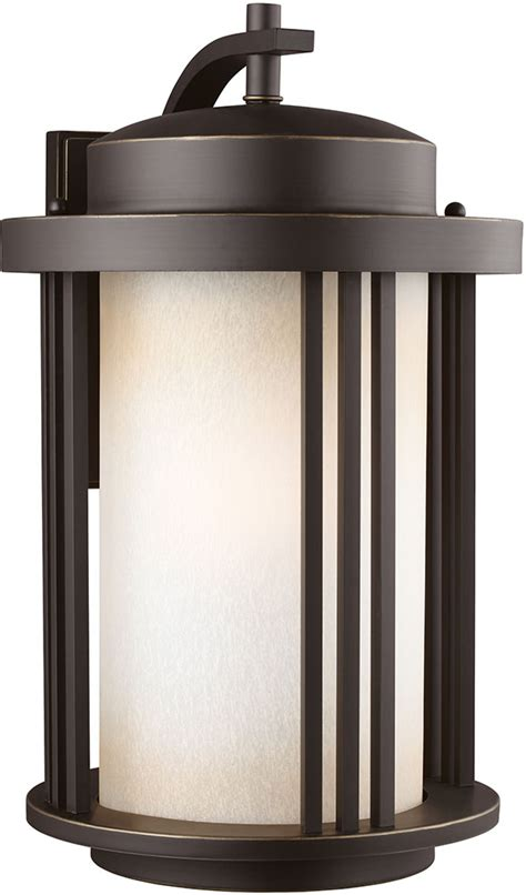 seagull 8847901en 71 crowell modern antique bronze led