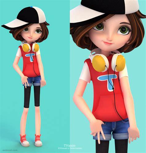 girl  cartoon character