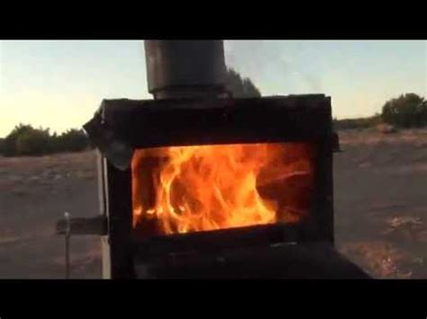 gasifier wood stove full video youtube