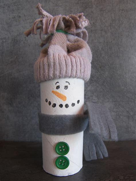 bricolage bonhomme de neige
