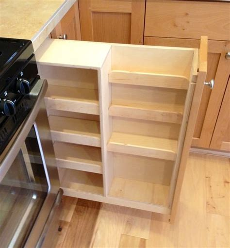 roll out spice racks for kitchen cabinets pull out spice rack cabinet kitchen cabinet crown 9756