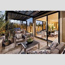 Terraces Features Luxury Outdoor Living Spaces On