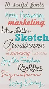 Pretty Handwriting Fonts | Hand Writing