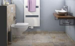 Tapeten Badezimmer Beispiele : g ste wc florenz bei hornbach ~ Markanthonyermac.com Haus und Dekorationen