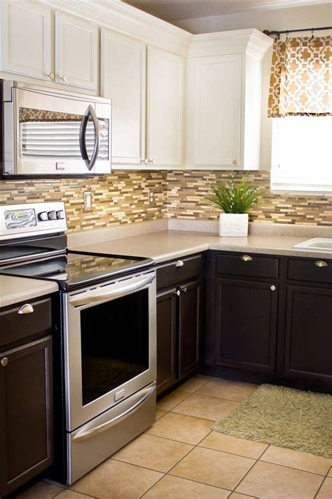 kitchen tile floor 8 best home decor mix and match cabinets images on 3255
