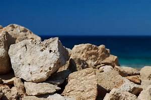 Rocks And Sea Free Stock Photo