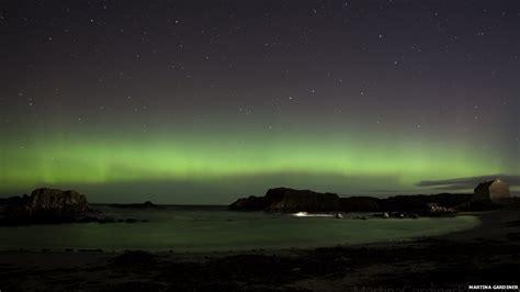 BBC News - Aurora Borealis: Your pictures