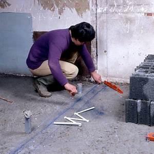 Comment Monter Un Mur En Parpaing : comment monter une cloison en parpaings bricobistro ~ Dailycaller-alerts.com Idées de Décoration