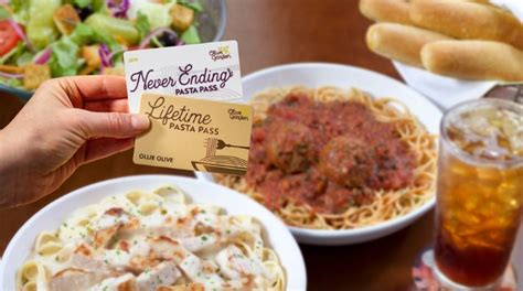 Olive Garden Lubbock Tx by Olive Garden Sells Lifetime Pasta Pass Unlimited Pasta