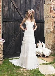 yolancris bohemian wedding dresses 2015 wedding i39ll With robe de mariée champetre dentelle