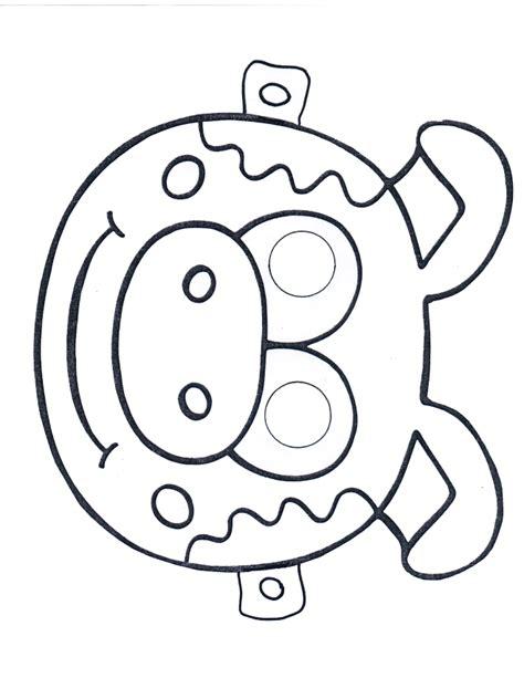 Printable Pig Mask Template