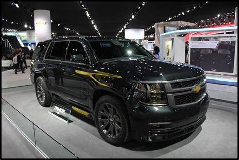 chevy tahoe concept police package  suvs